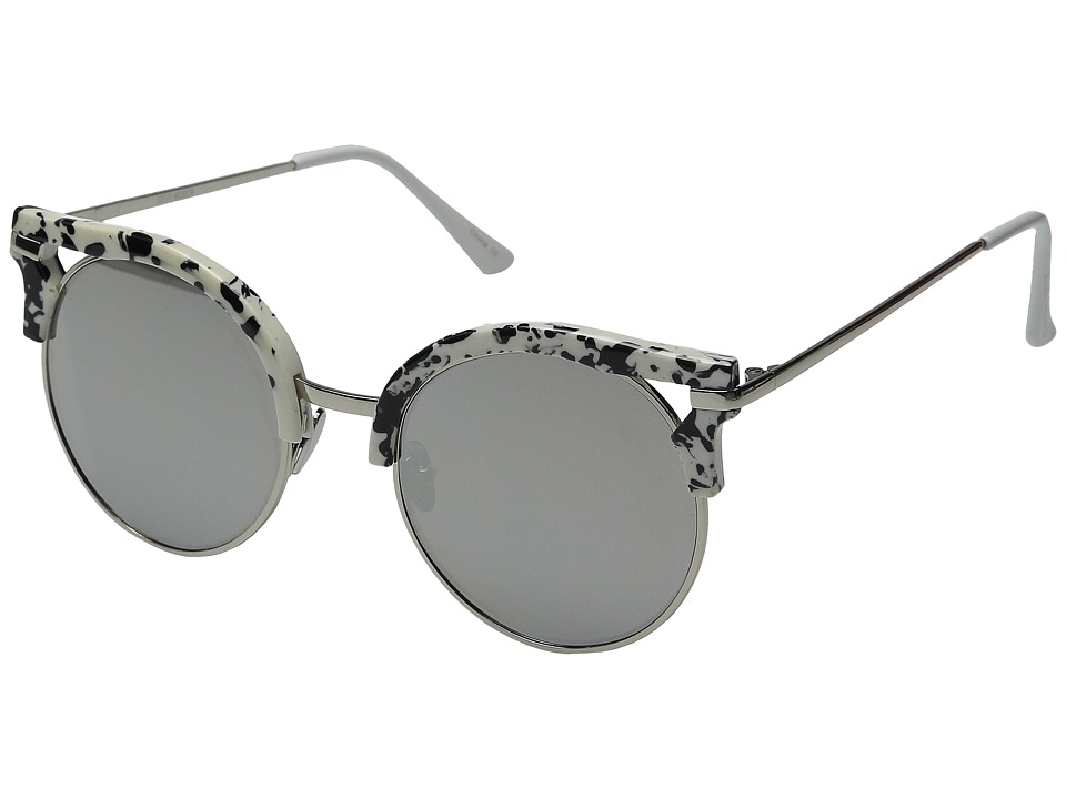 Steve Madden - Rylie (Silver/Silver) Fashion Sunglasses