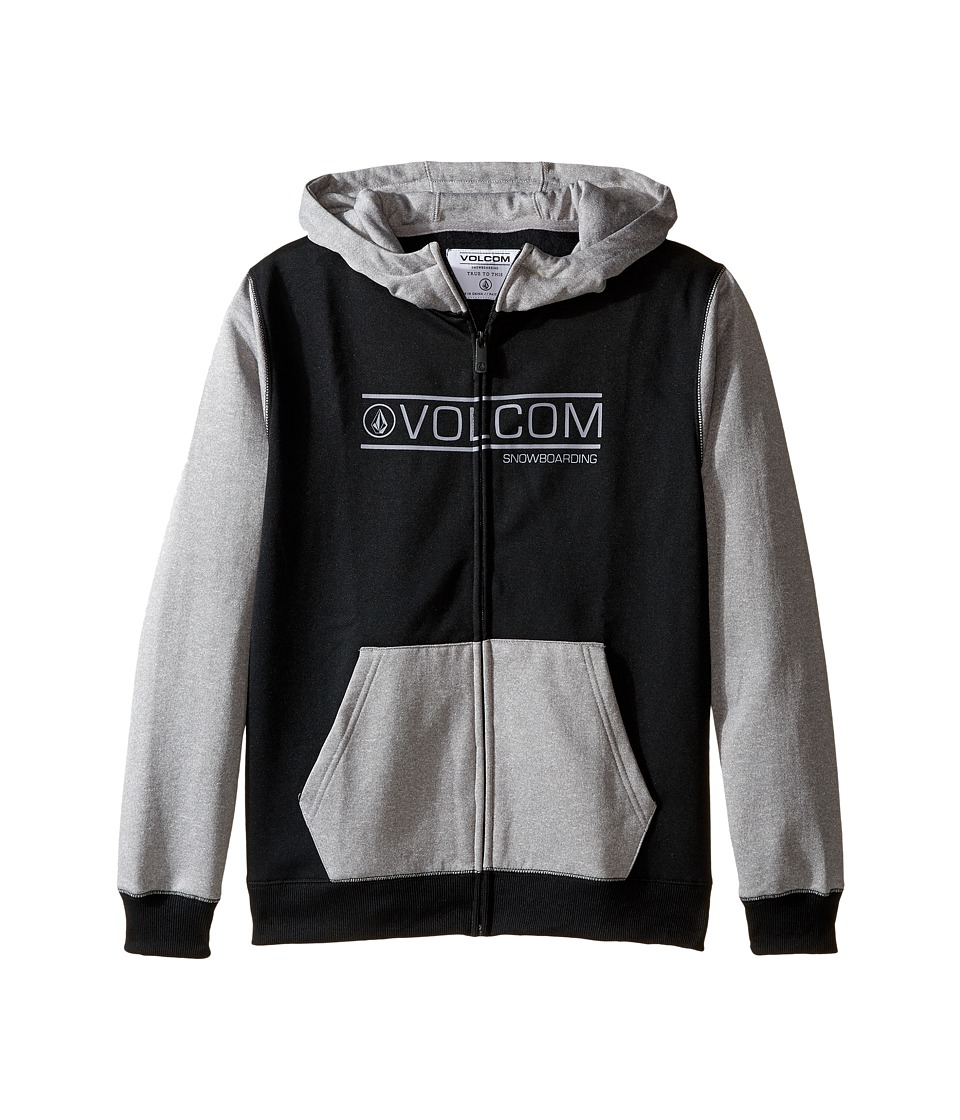 Volcom Kids - Spectrum Fleece (Little Kids/Big Kids) (Black) Boy's Sweatshirt