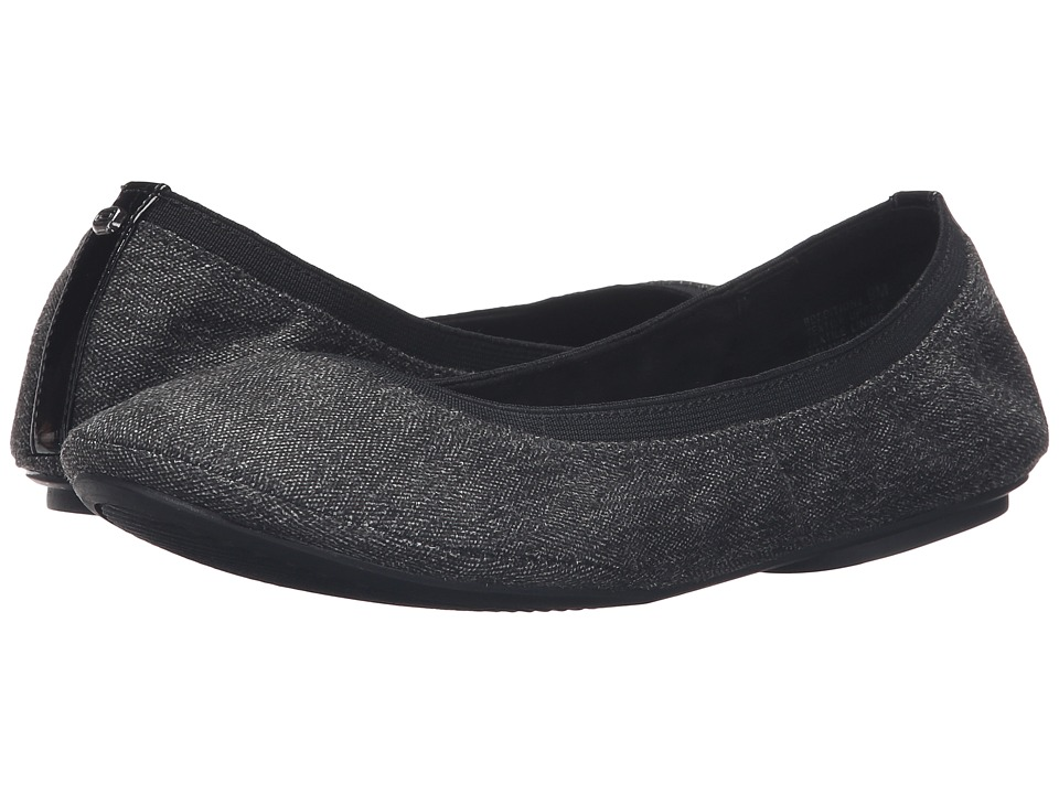 Bandolino - Edition (Dark Grey Herringbone) Women's Flat Shoes