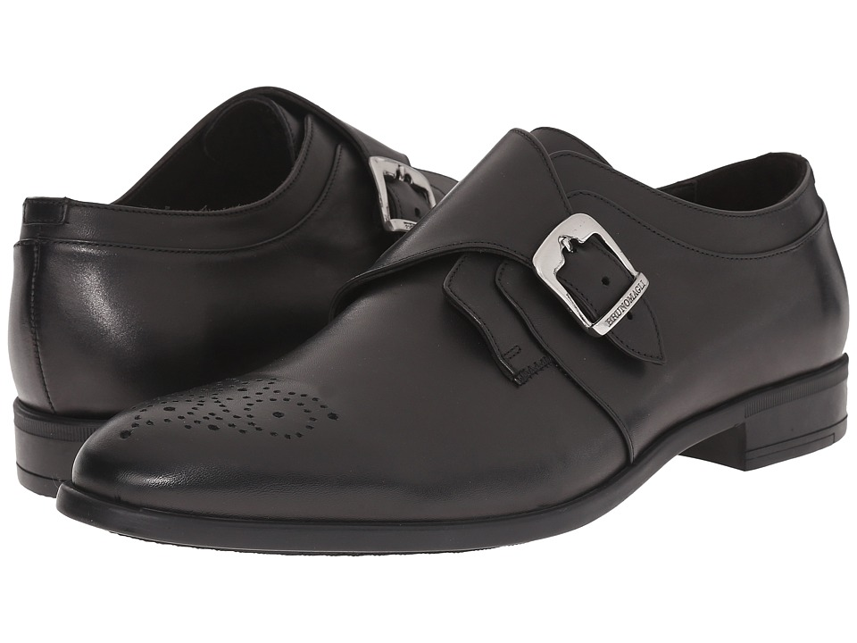 Bruno Magli - Mail (Black) Men's Shoes