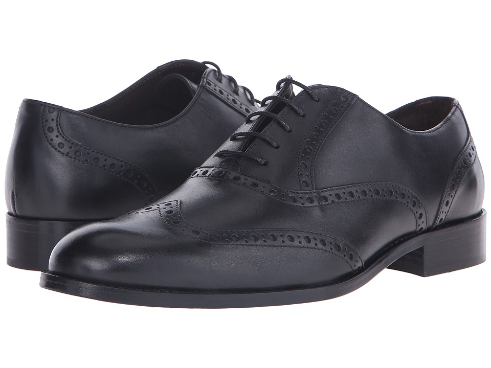 Bruno Magli - Alvar (Black) Men's Shoes