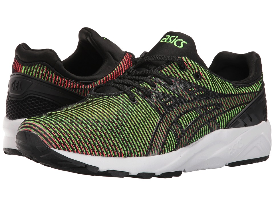 ASICS Tiger - Gel-Kayano Trainer EVO (Gecko Green/Guava) Shoes