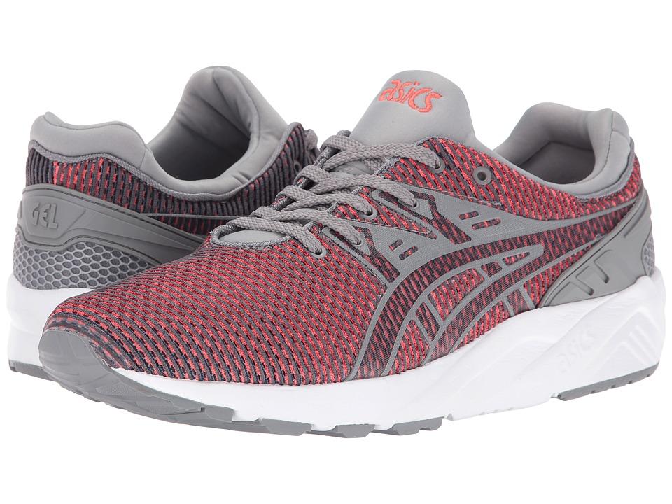 ASICS Tiger - Gel-Kayano Trainer EVO (Medium Grey/Guava) Shoes
