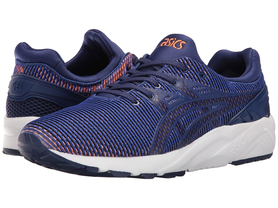 ASICS Tiger - Gel-Kayano Trainer EVO (Blue Print/Orange) Shoes