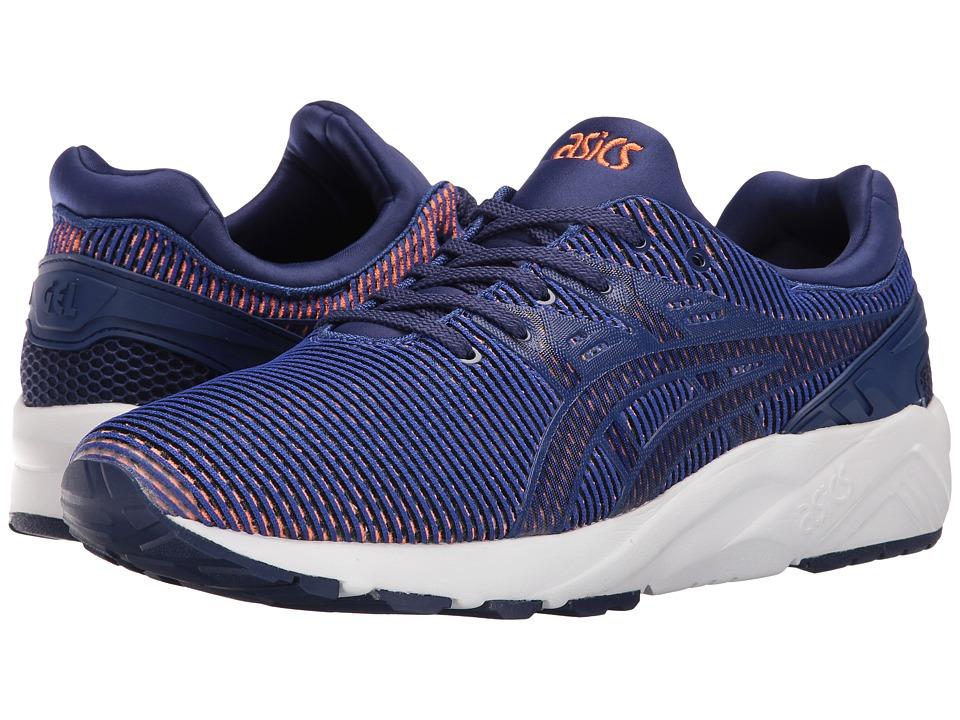 ASICS Tiger - Gel-Kayano Trainer EVO (Blue Print/Orange) Shoes