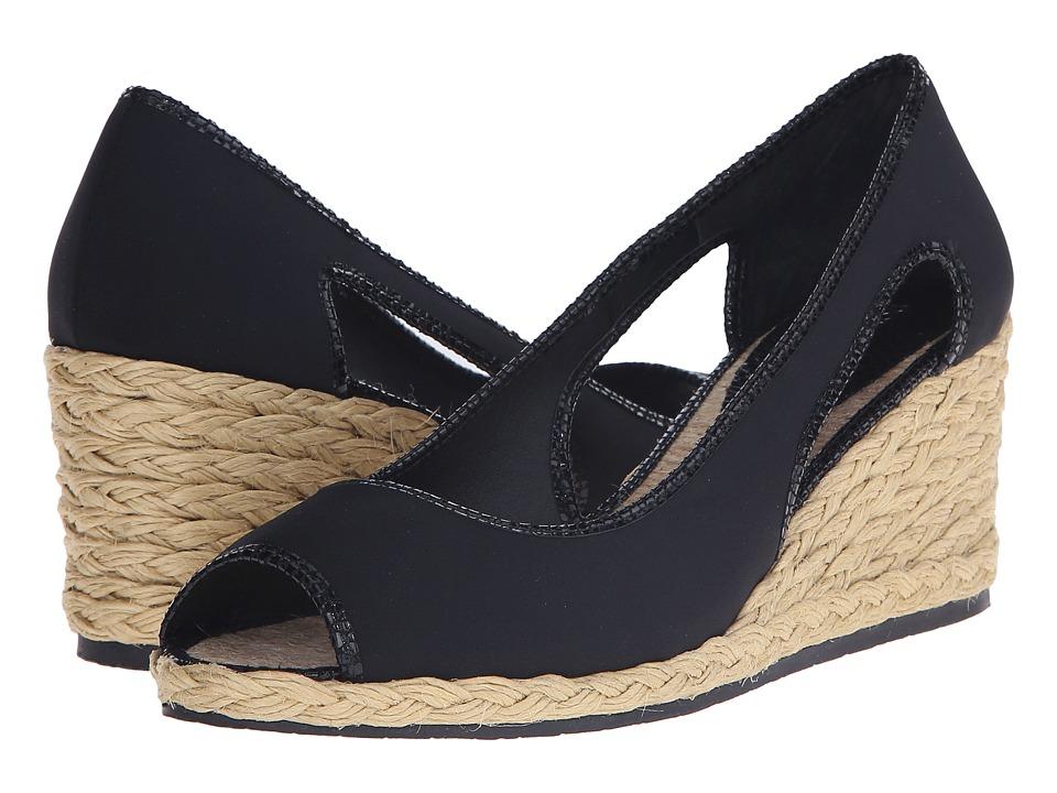 Donald J Pliner - Charlot (Black) Women's Wedge Shoes