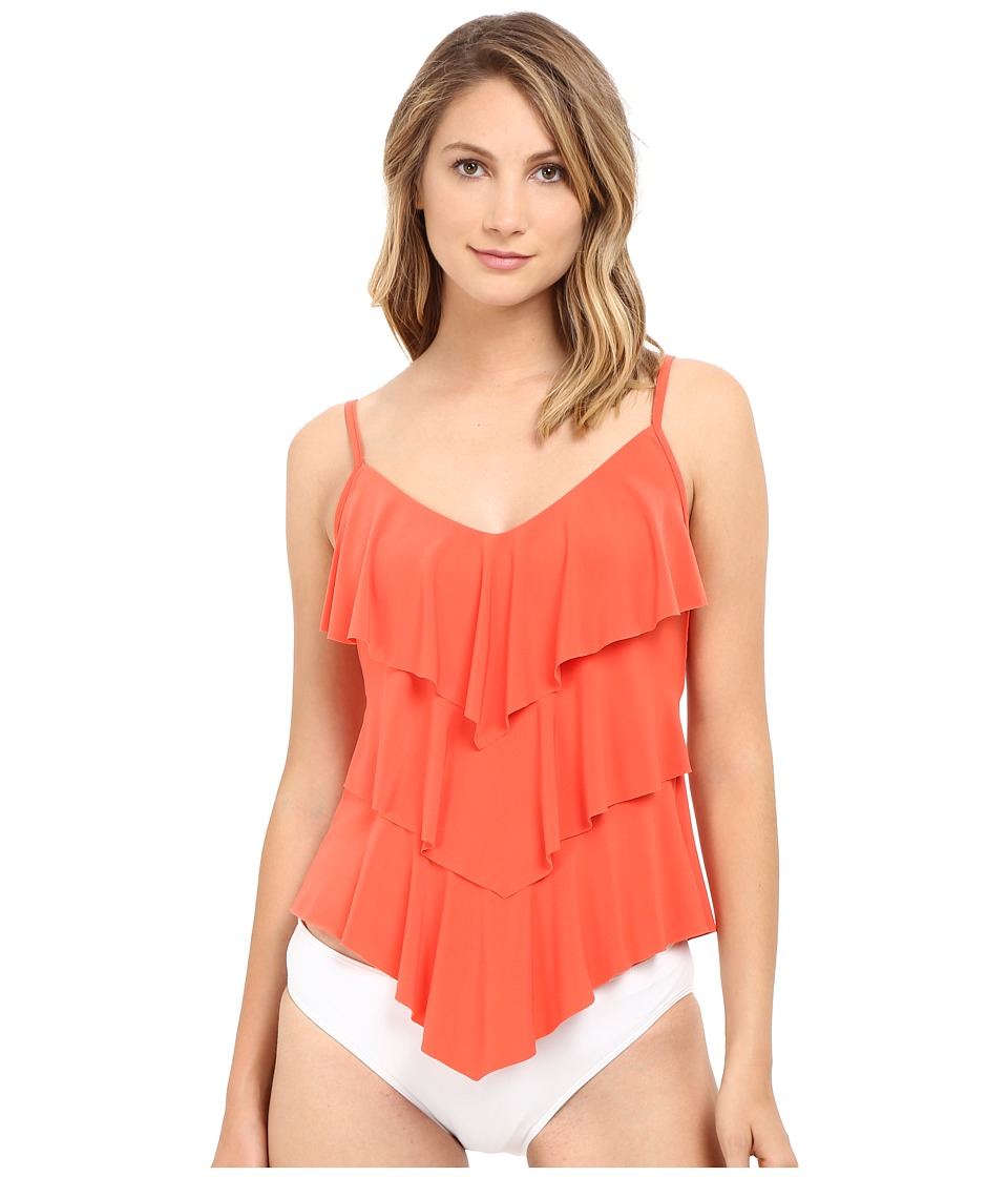 Magicsuit - Solids Rita Top (Flamingo) Women's Swimwear
