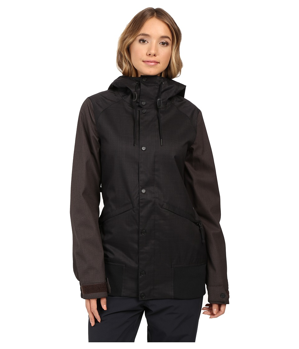 Volcom Snow - Stave Jacket (Black) Women's Coat