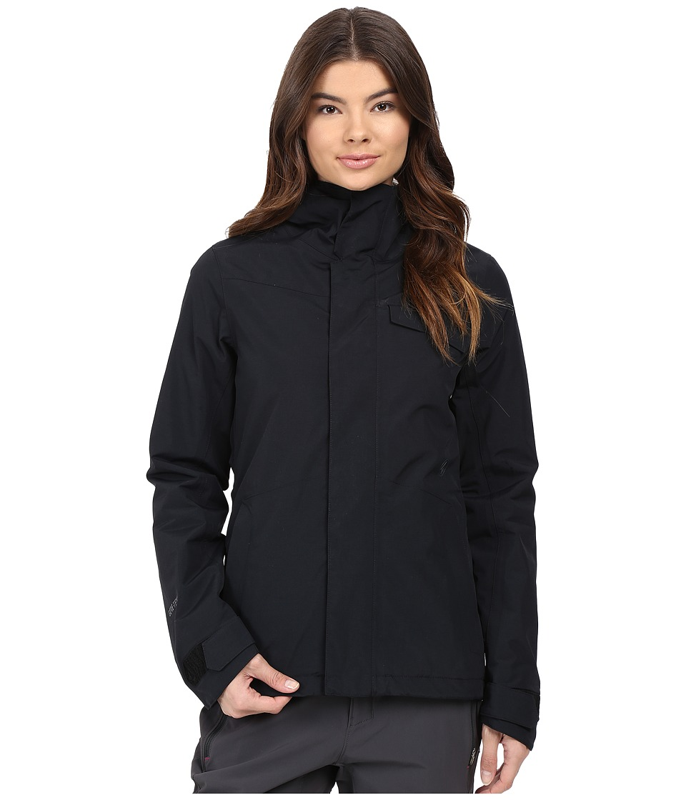 Volcom Snow - Bow Insulated Gore-Tex Jacket (Black) Women's Coat
