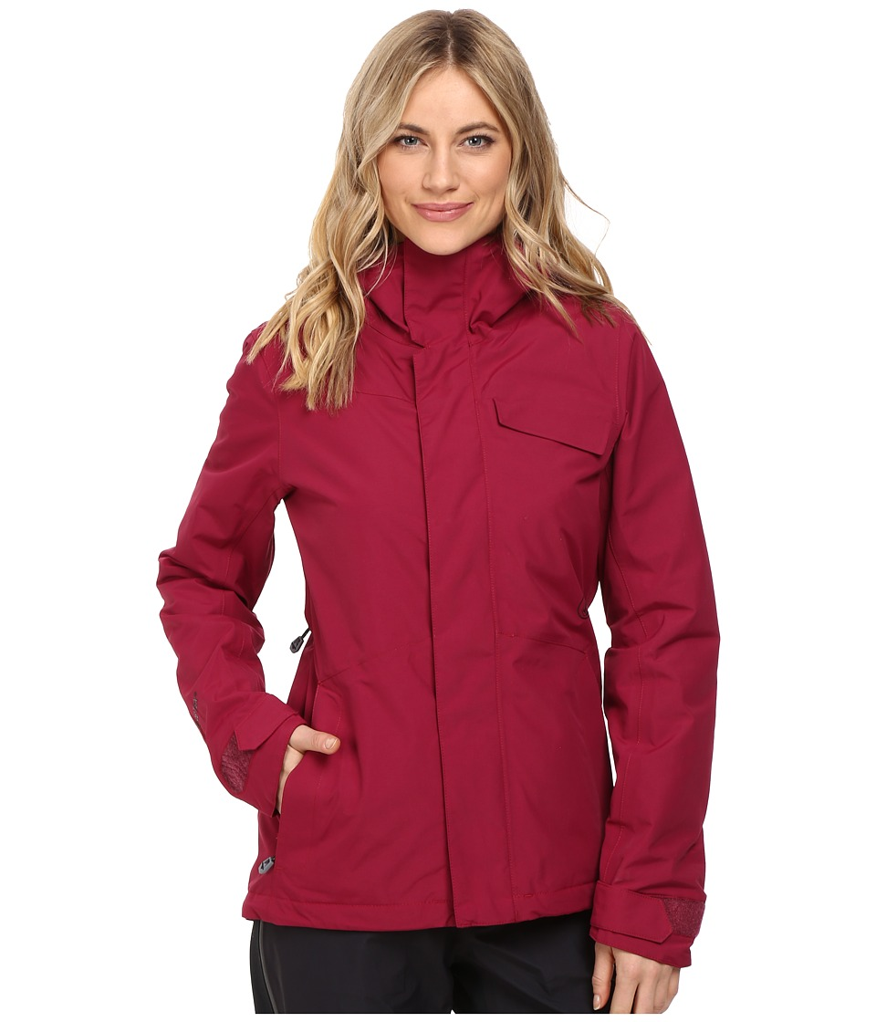 Volcom Snow - Bow Insulated Gore-Tex Jacket (Mulberry) Women's Coat