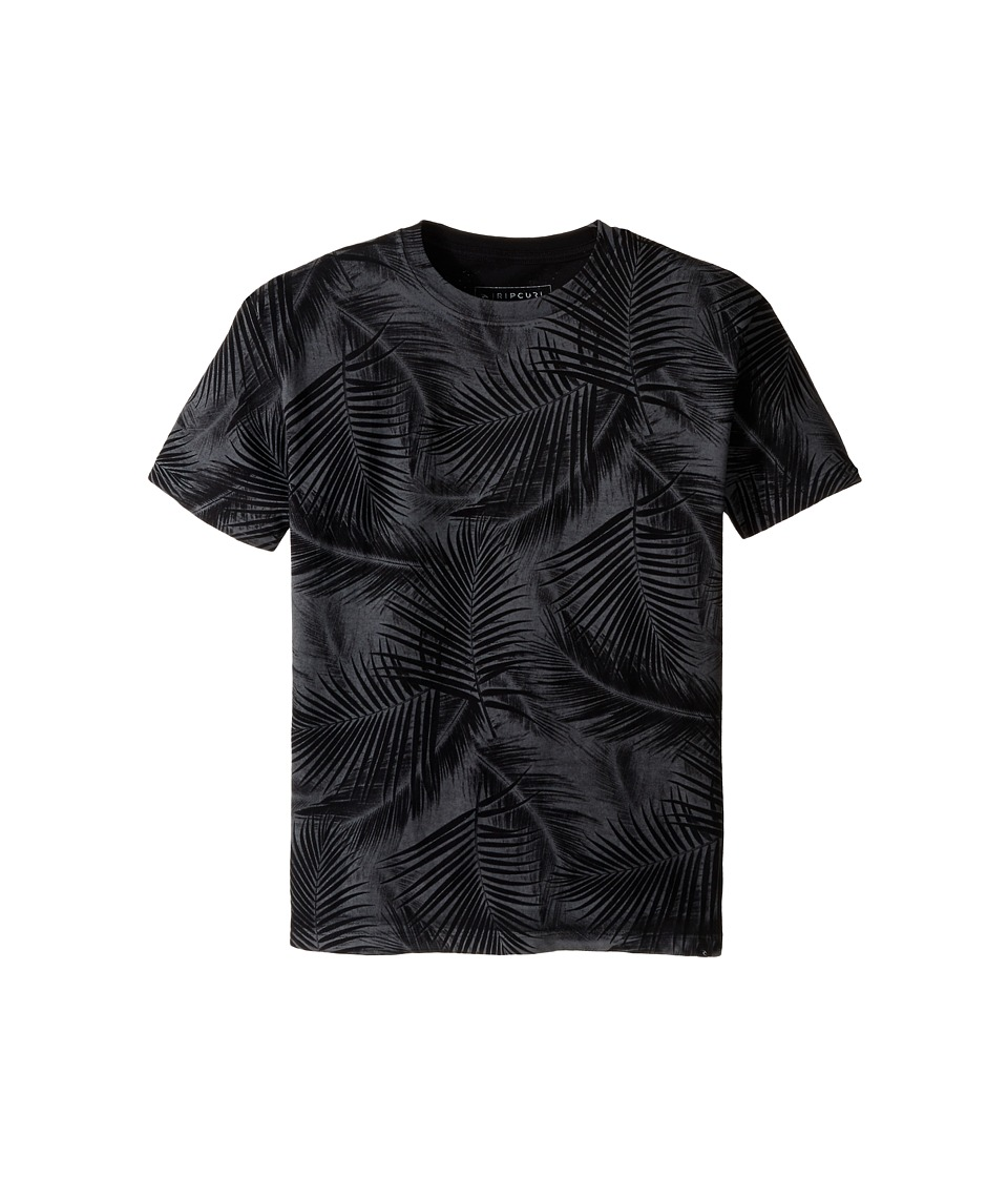 Rip Curl Kids - Paradise Cutome Tee (Big Kids) (Black) Boy's T Shirt