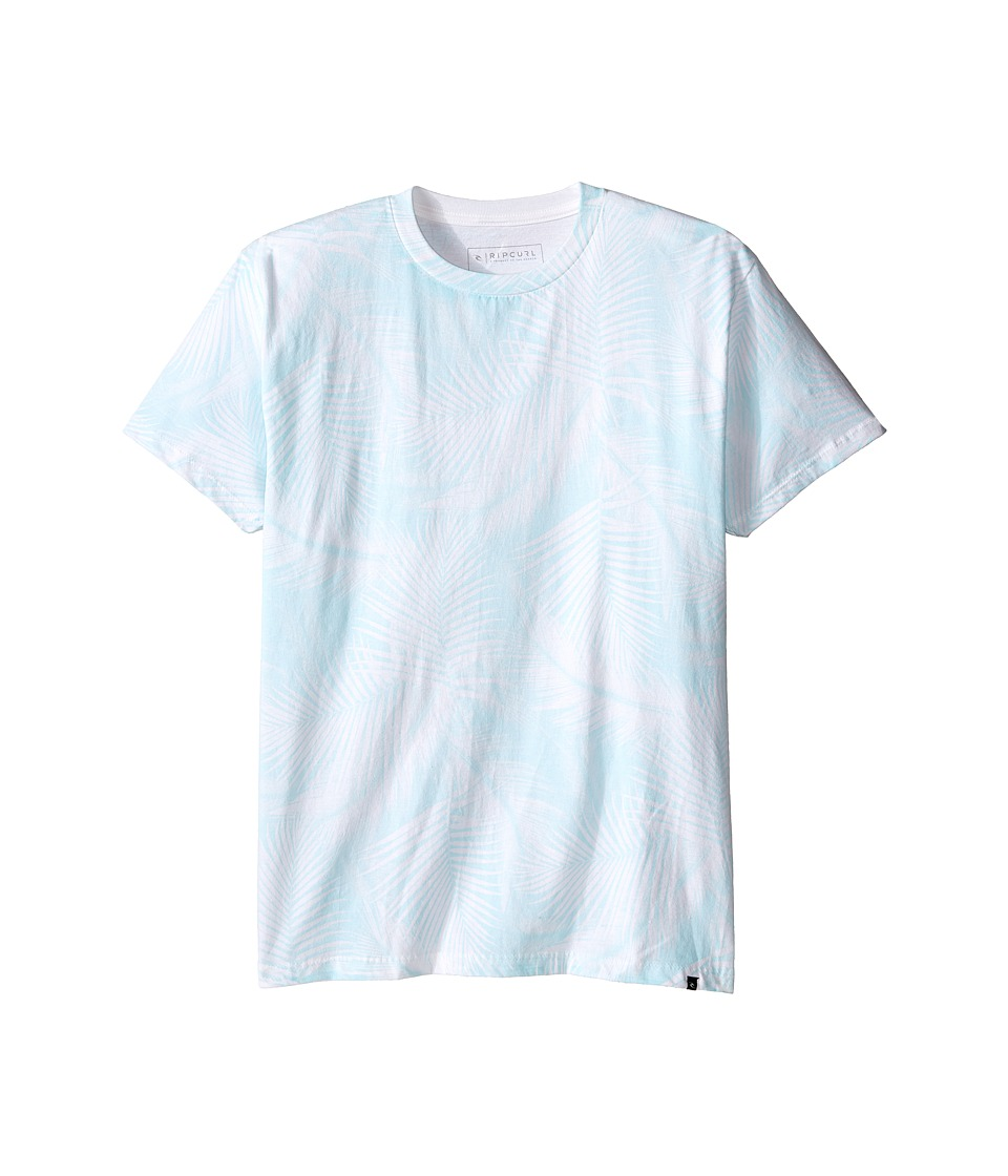 Rip Curl Kids - Paradise Cutome Tee (Big Kids) (White) Boy's T Shirt