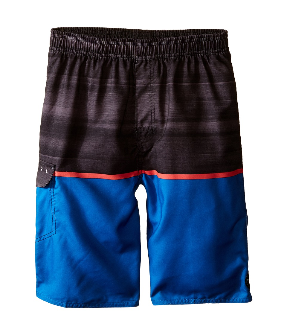 Rip Curl Kids - Split Volley Boardshorts (Big Kids) (Royal) Boy's Swimwear