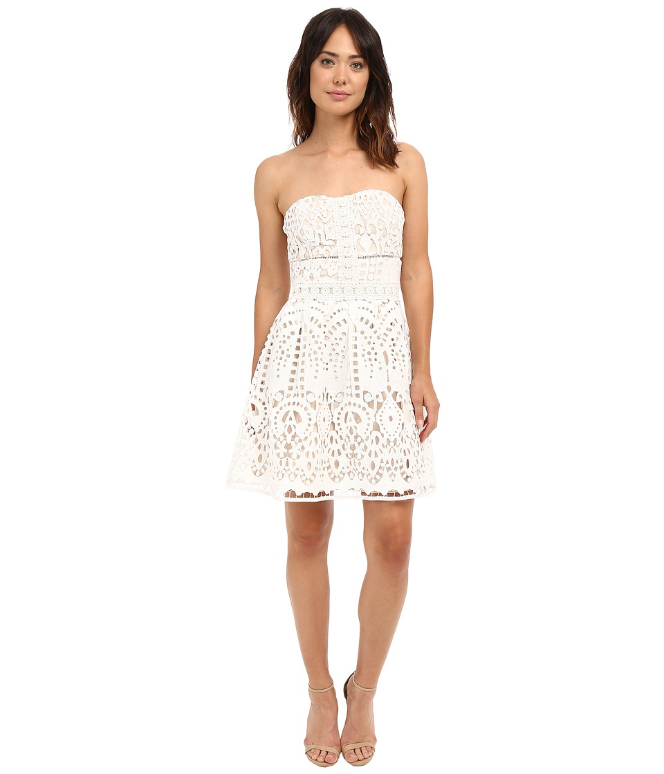 Adelyn Rae - Tube Lace Dress (White) Women's Dress
