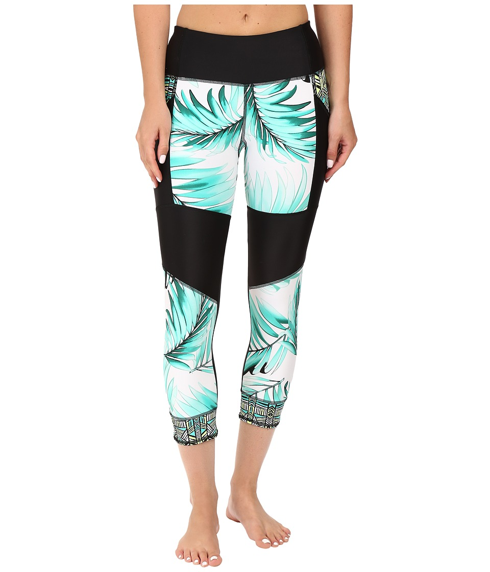 Body Glove - Tropi-Cal Seven Seas Surf Capris (Lagoon) Women's Swimwear