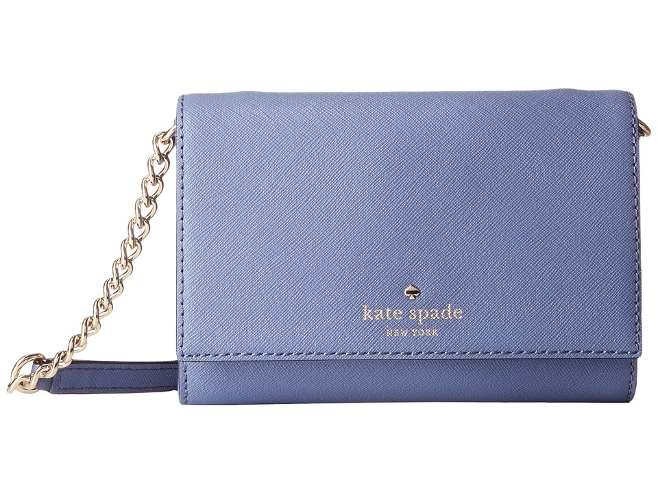 Kate Spade New York - Cedar Street Cami (Oyster Blue) Cross Body Handbags