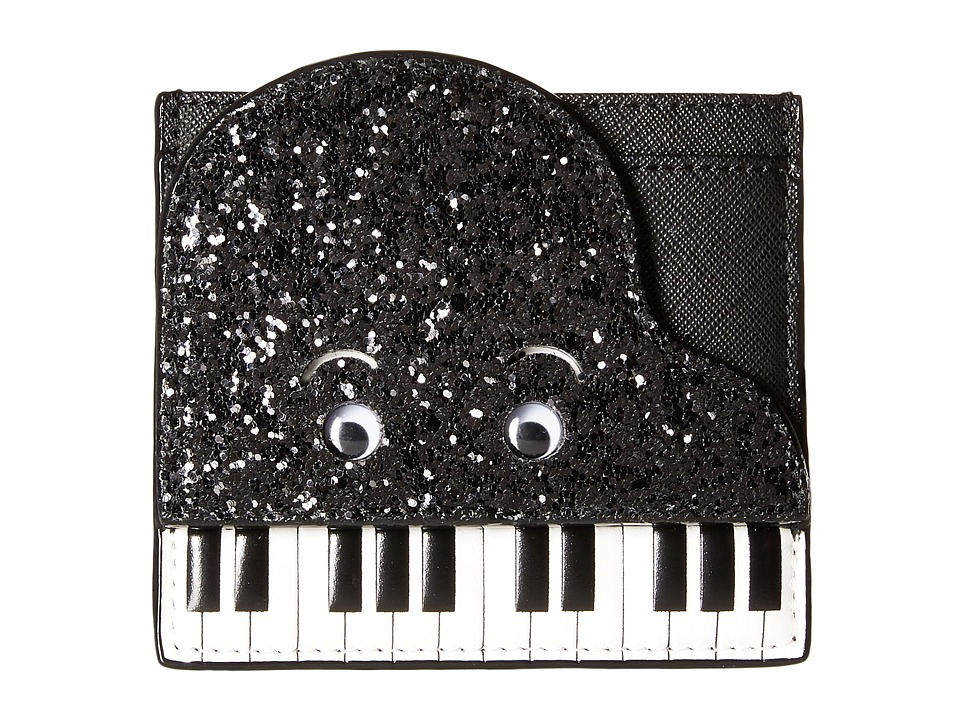 Kate Spade New York - Jazz Things Up Piano Card Case (Black/White) Credit card Wallet