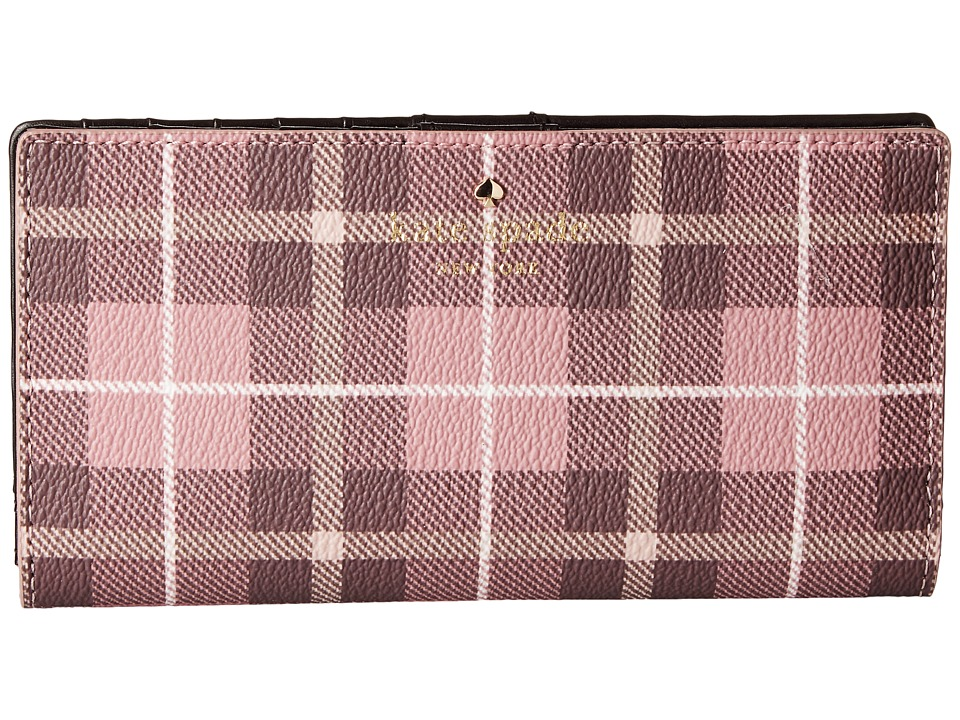 Kate Spade New York - Fairmount Square Stacy (Pink Bonnet Multi) Wallet