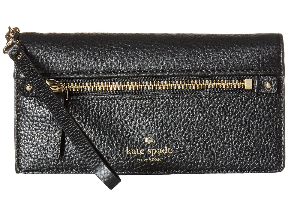 Kate Spade New York - Cobble Hill Rae (Black) Wallet