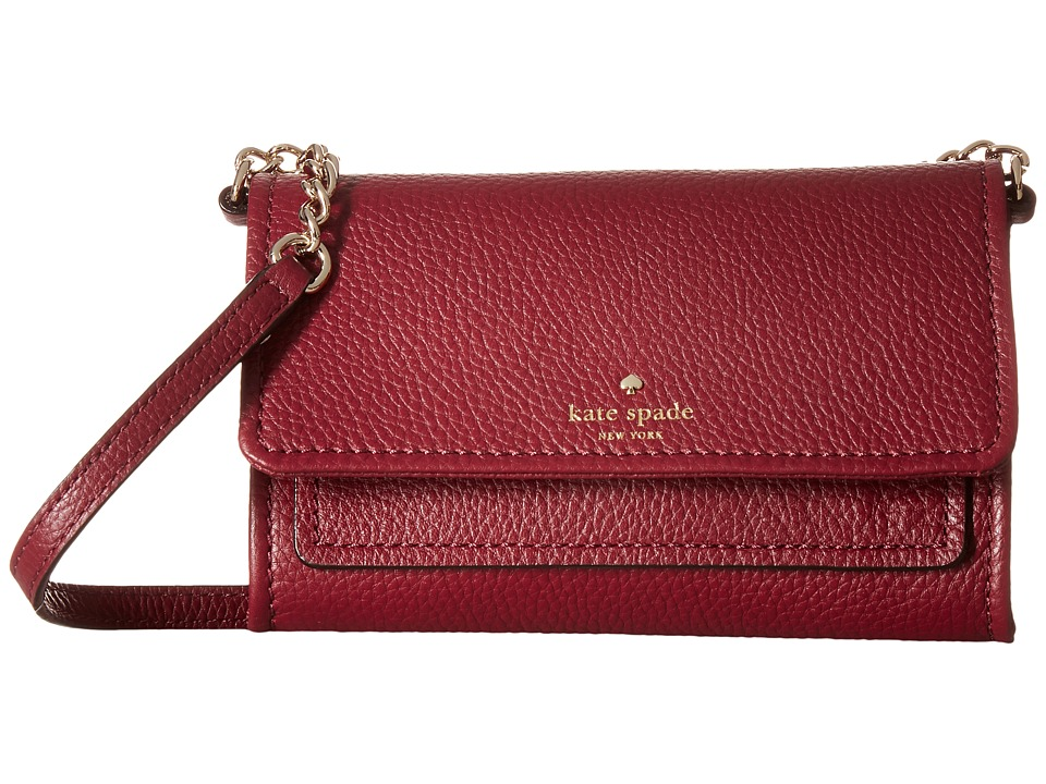 Kate Spade New York - Cobble Hill Gracie (Merlot) Wallet