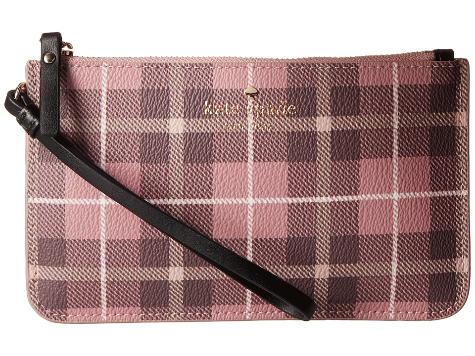 Kate Spade New York - Fairmount Square Slim Bee (Pink Bonnet Multi) Wallet