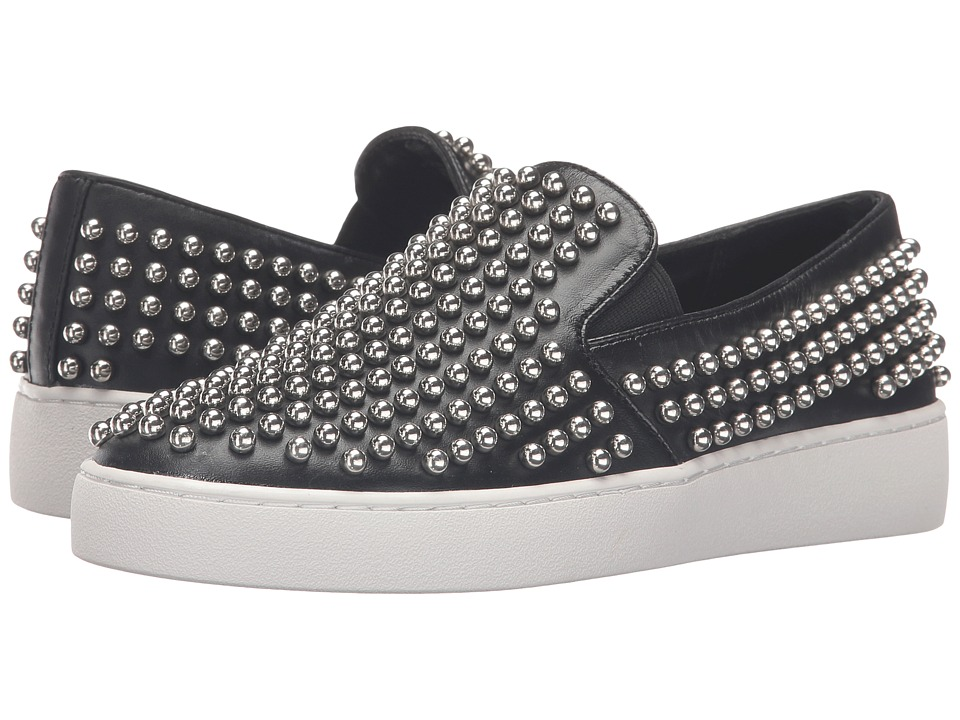 Michael Kors Nash (Black/Palladium Smooth Calf/Studs) Women