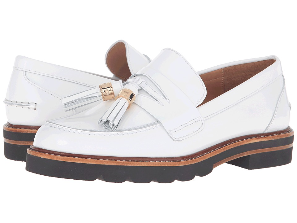 Stuart Weitzman - Manila (Bianco Mirror) Women's Shoes