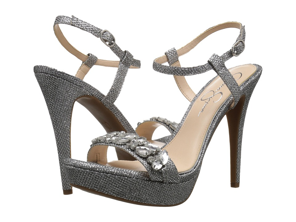 Jessica Simpson - Kanady (Silver) Women's Shoes