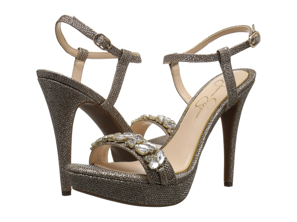 Jessica Simpson - Kanady (Gold) Women's Shoes