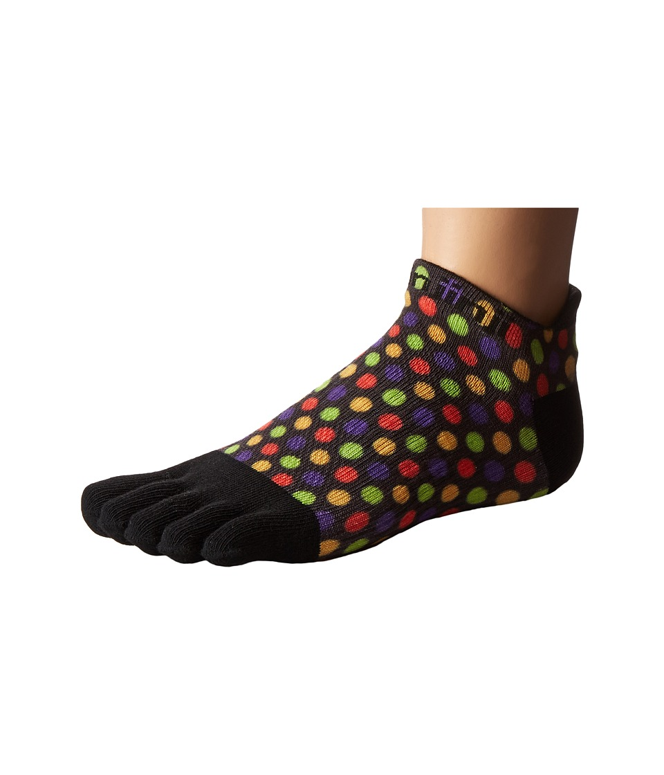 Injinji - Run Lightweight No Show 3-Pack (Halloween Polkie) Women's No Show Socks Shoes