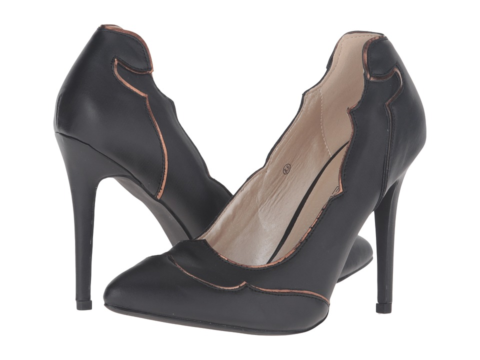 C Label Cora-3 (Black) High Heels