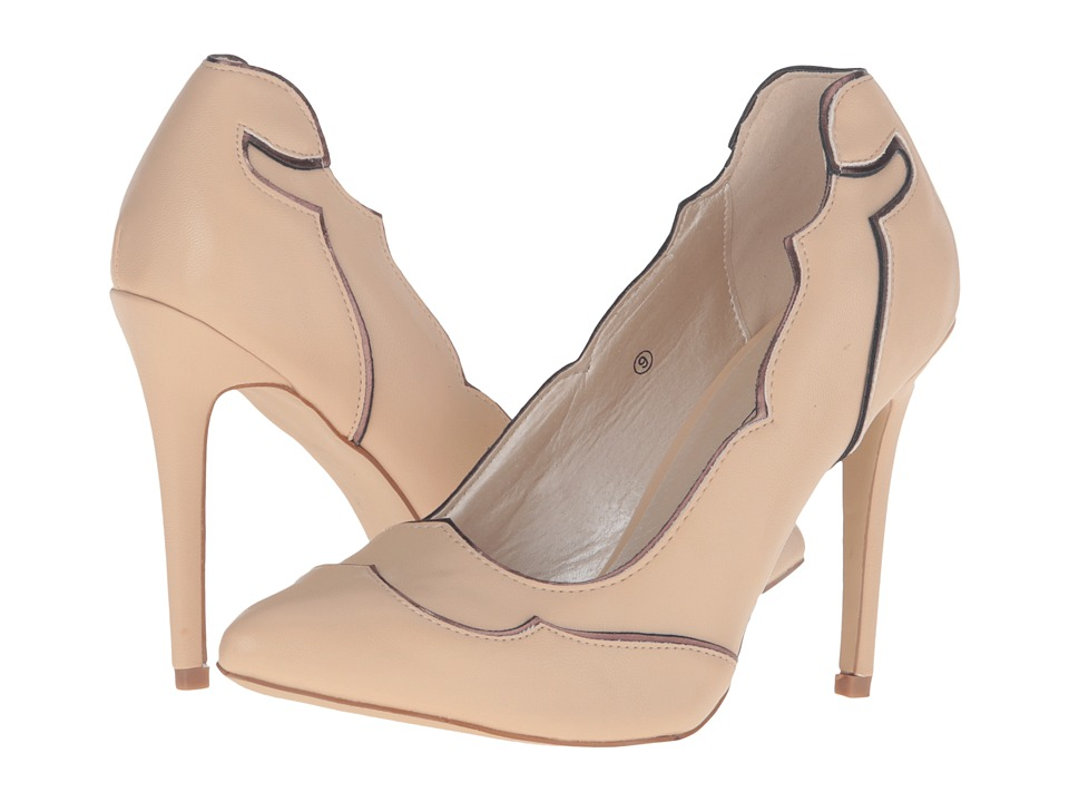 C Label Cora-3 (Tan) High Heels