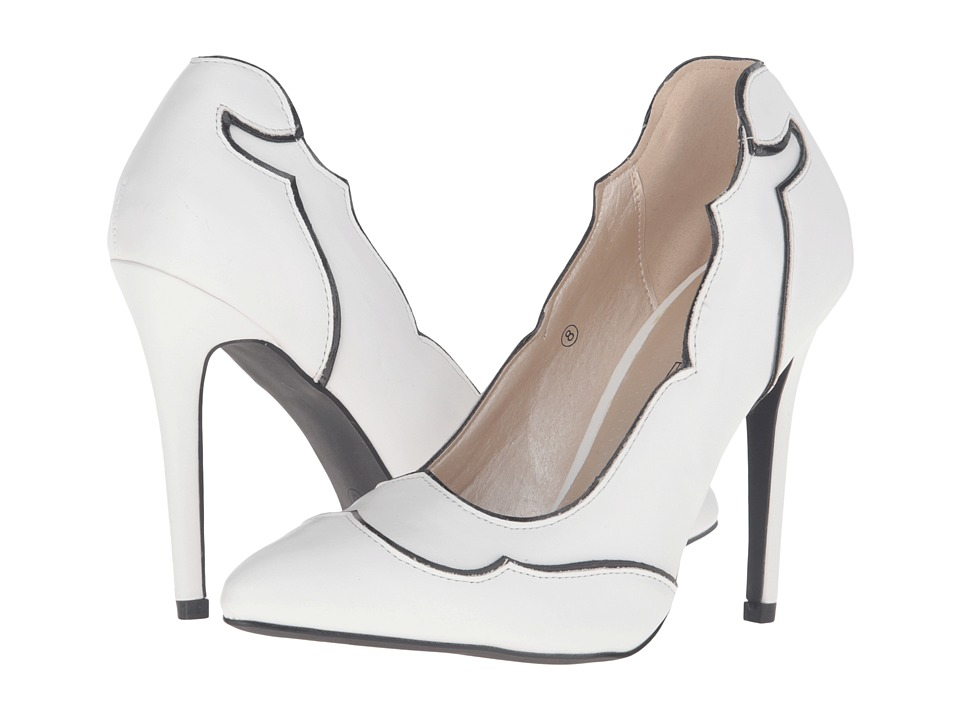 C Label - Cora-3 (White) High Heels