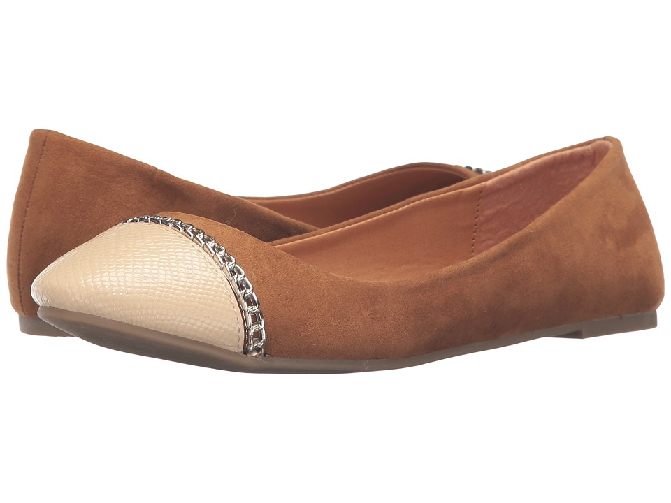 C Label - Krimp-11 (Tan) Women's Flat Shoes