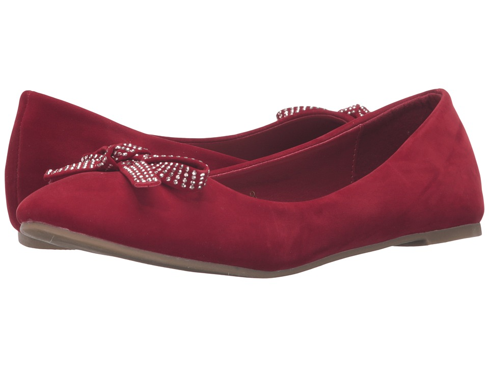 C Label - Krimp-9 (Red) Women's Flat Shoes