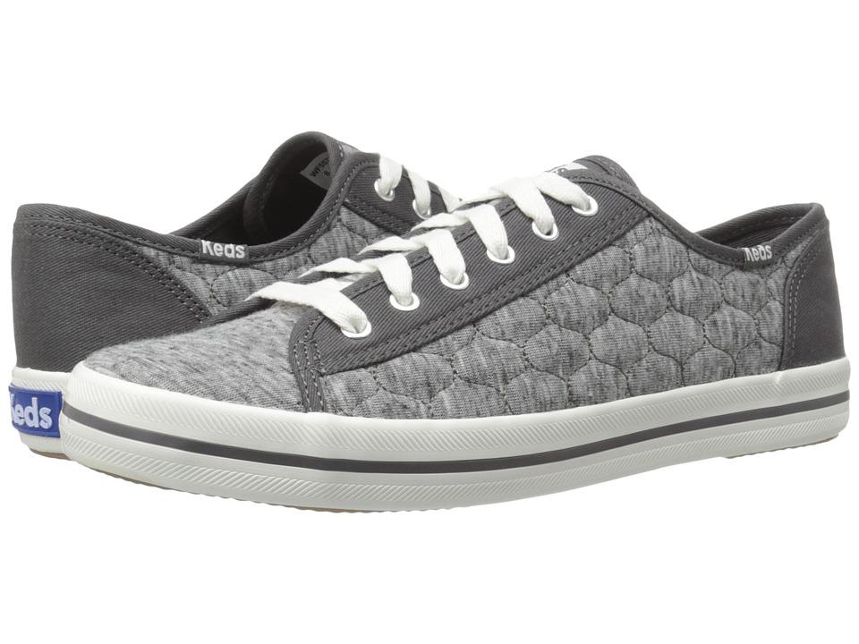 Keds - Kickstart Quilted Jersey (Charcoal) Women's Shoes
