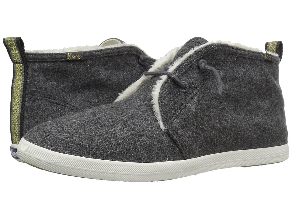 Keds Chillax Chukka Wool (Charcoal) Women
