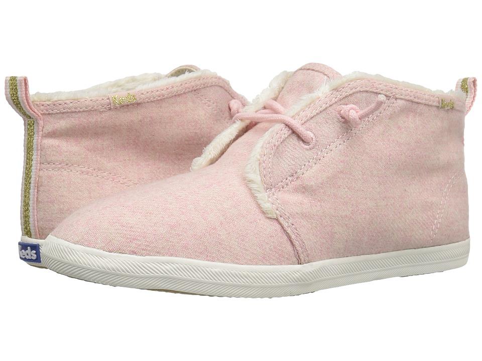 Keds - Chillax Chukka Wool (Pink) Women's Shoes