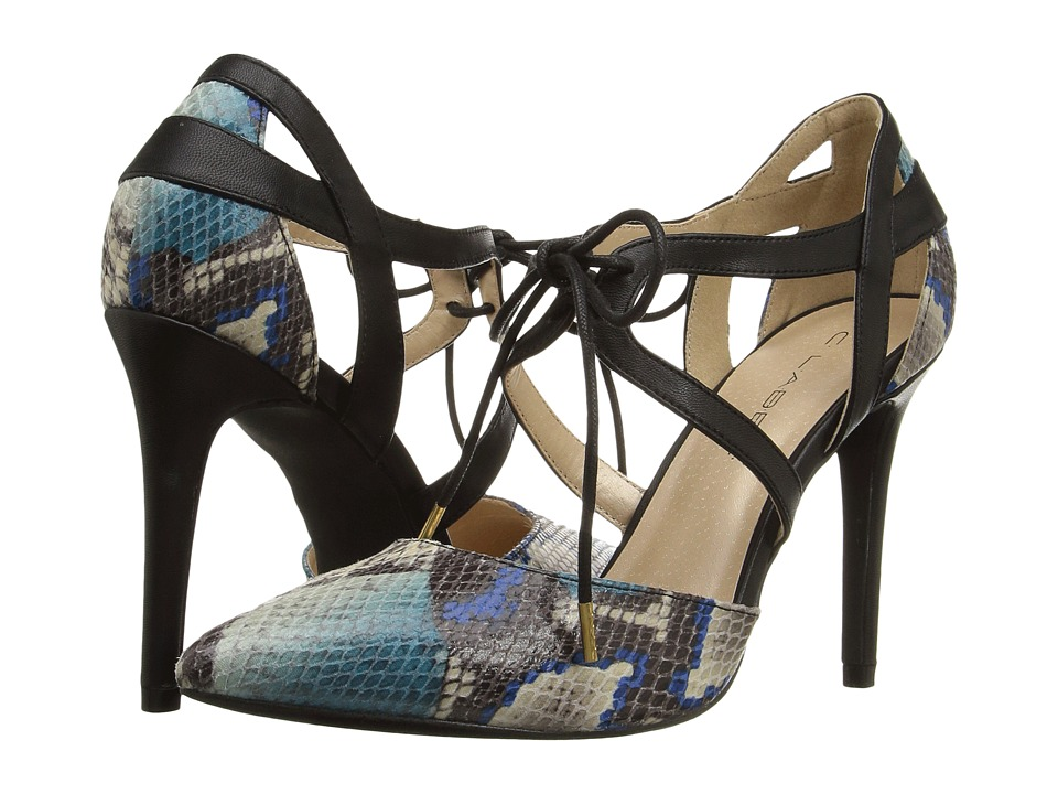 C Label - Liberty-21 (Blue/Black) High Heels
