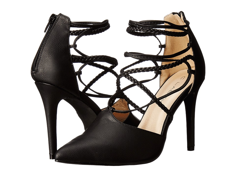 C Label Liberty-17 (Black) High Heels