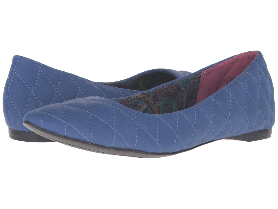 C Label - Paige-2 (Blue) Women's Flat Shoes