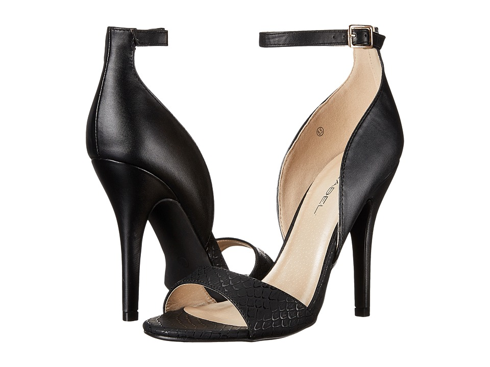 C Label - Milan-27A (Black) High Heels