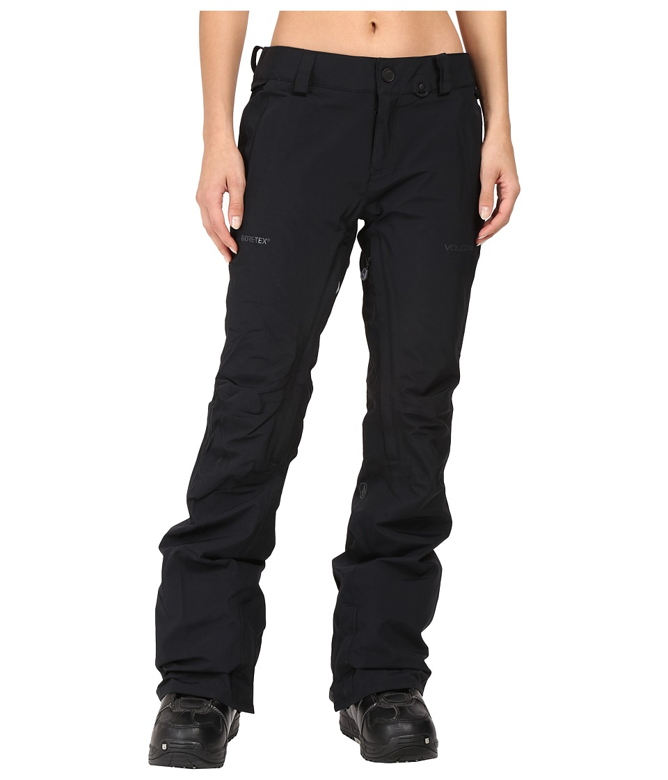 Volcom Snow - Knox Insulated Gore-Tex Pants (Black) Women's Casual Pants