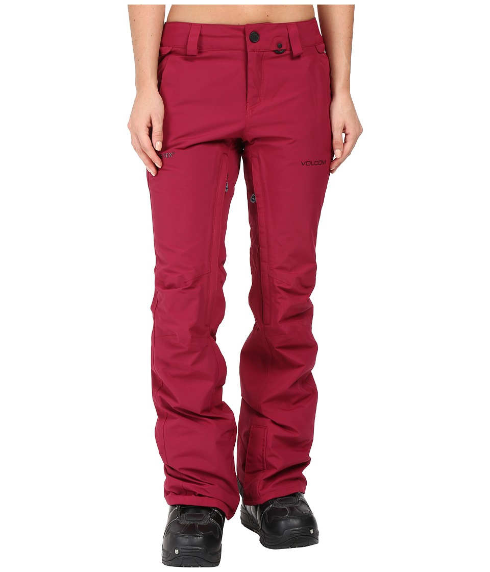 Volcom Snow - Knox Insulated Gore-Tex Pants (Mulberry) Women's Casual Pants