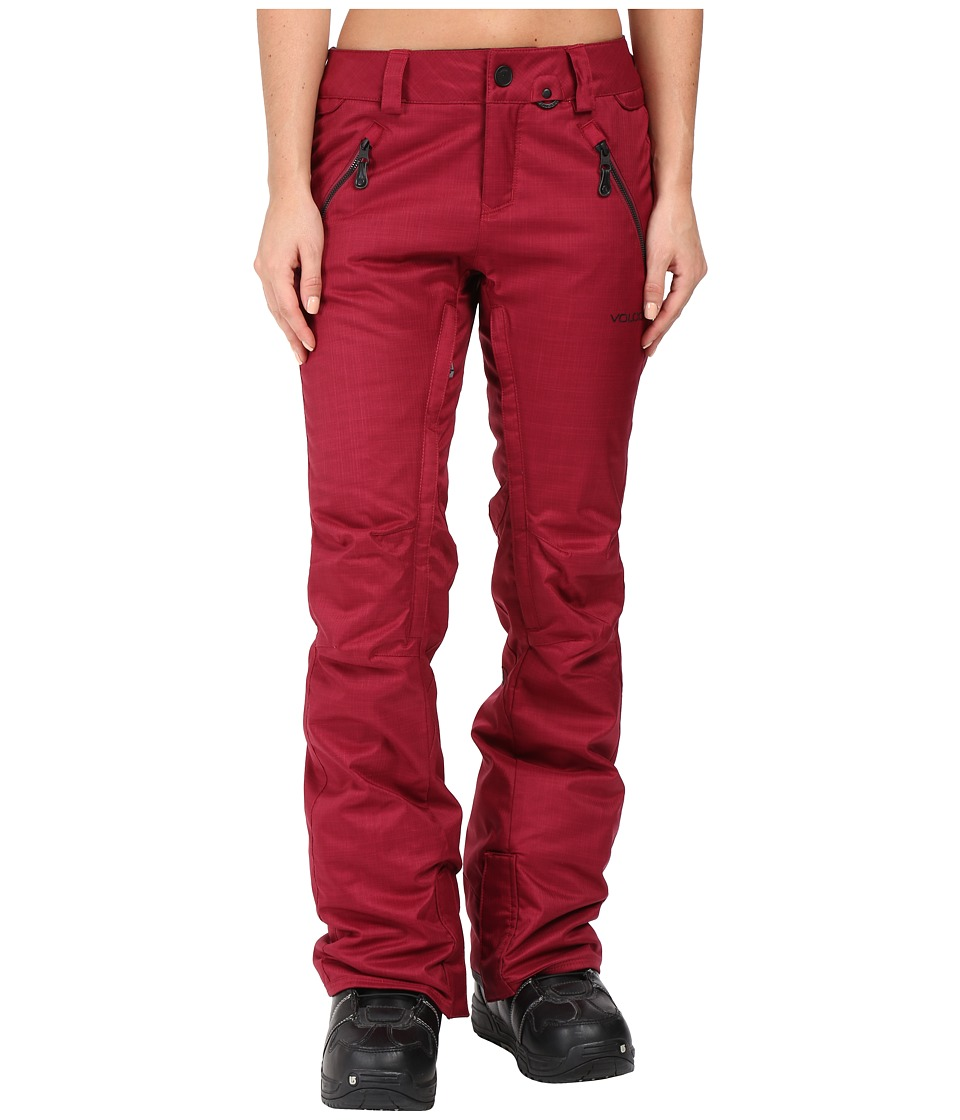 Volcom Snow - Calico Insulated Pants (Mulberry) Women's Casual Pants