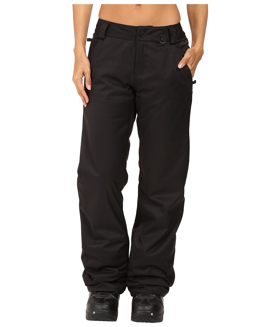 Volcom Snow - Frochickie Insulated Pants (Black) Women's Casual Pants