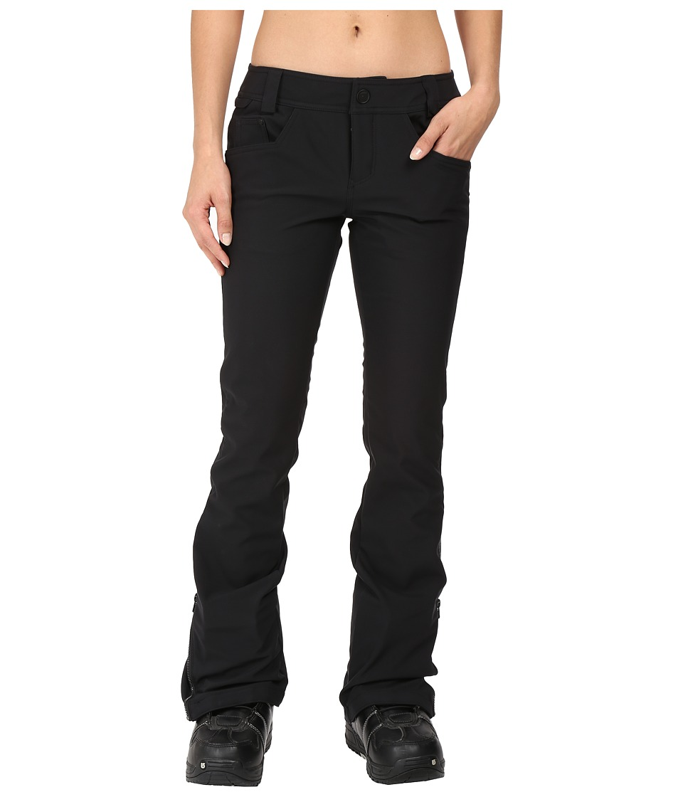 Volcom Snow - Battle Stretch Pants (Black) Women's Casual Pants