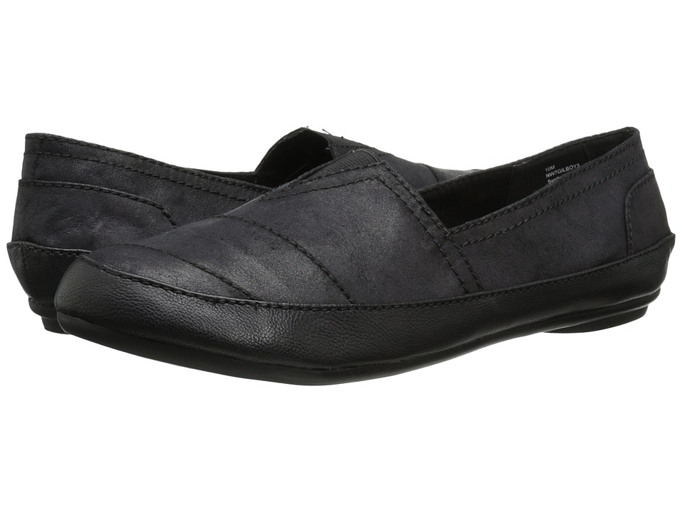 Nine West - Gilboy (Black Multi Synthetic) Women's Flat Shoes