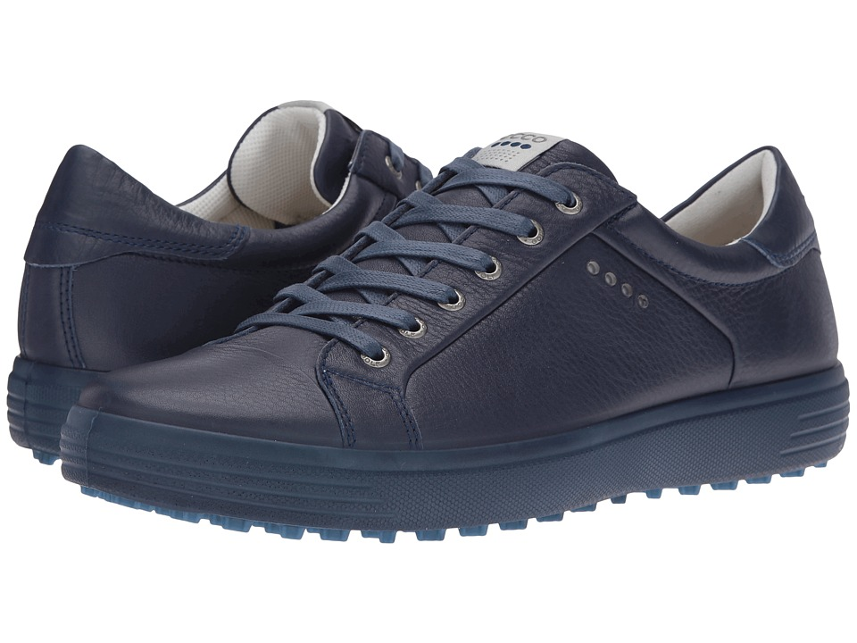 ECCO Golf - Golf Casual Hybrid (True Navy/Marine) Men's Golf Shoes
