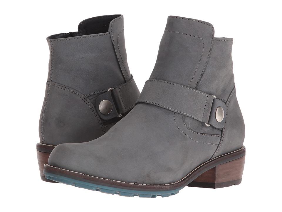 Wolky - Gila CW (Asphalt Mistique Nubuck) Women's Pull-on Boots